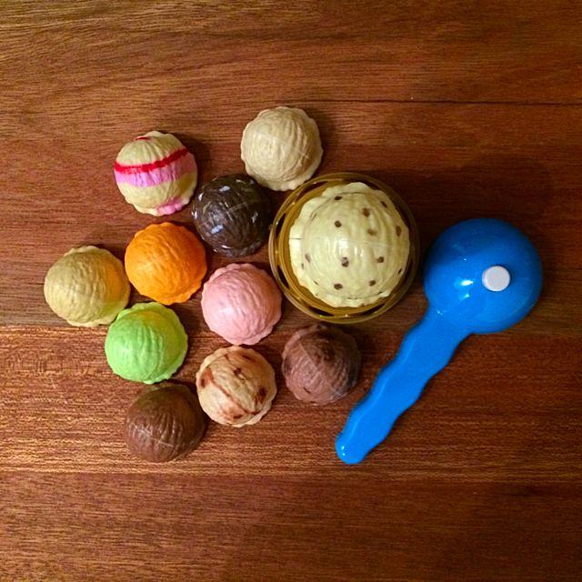 二手)冰淇淋疊疊樂 完整少用