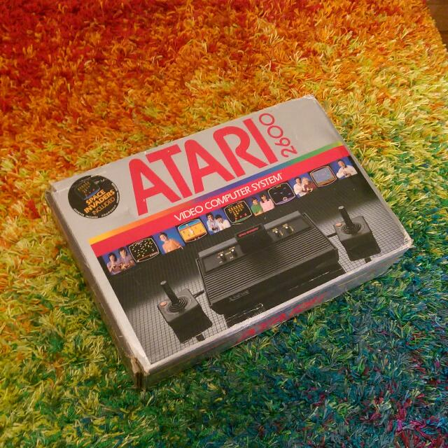 Atari 2600 Boxed w/ Manuals