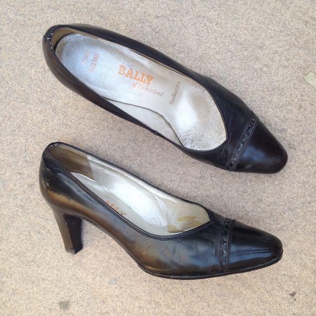 Bally Heels/Sepatu/Bally Shoes - Preloved