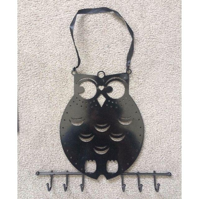 Black Owl Jewelry Holder