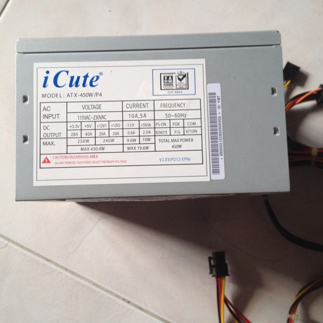 Budget 450w PSU, Electronics on Carousell