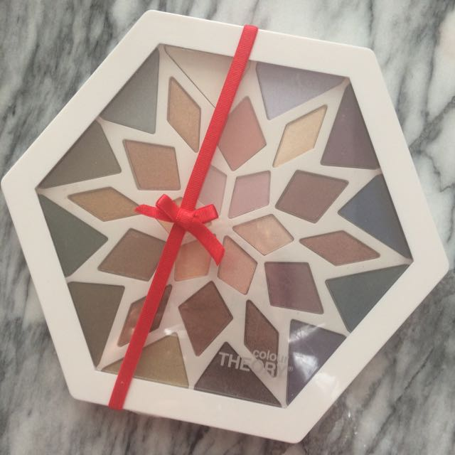 *sold Pending Pickup* Colour Theory Eyeshadow Palette