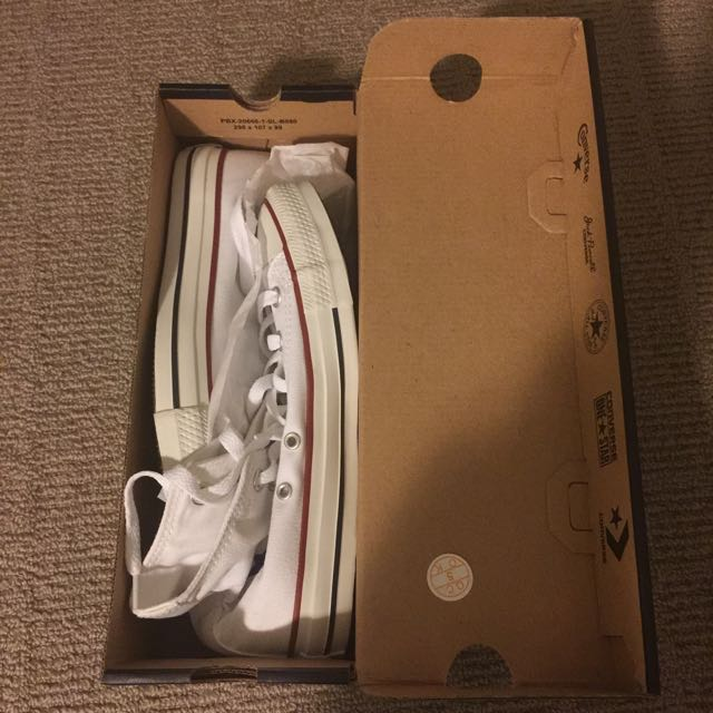 Converse All Star High Tops White Size 7