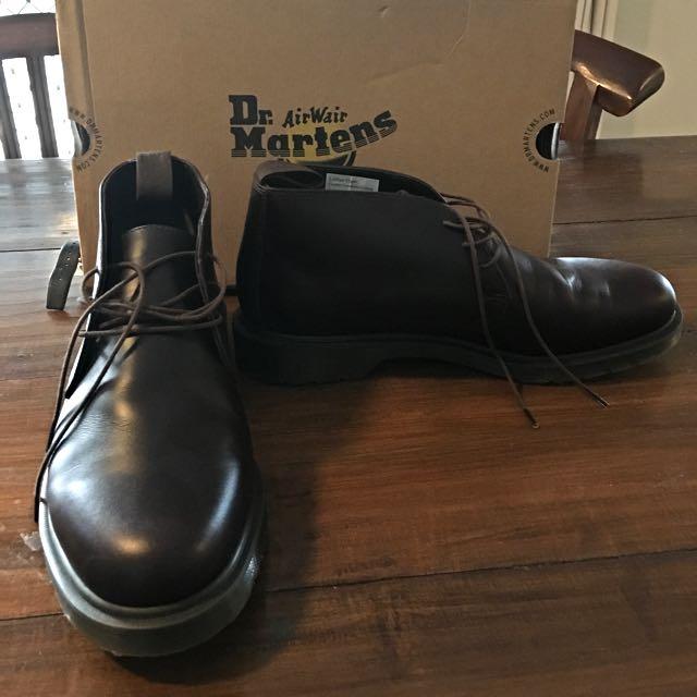 Dr Martin Chukka Boots.