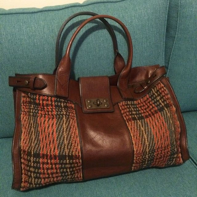 Genuine Fossil Tote Handbag