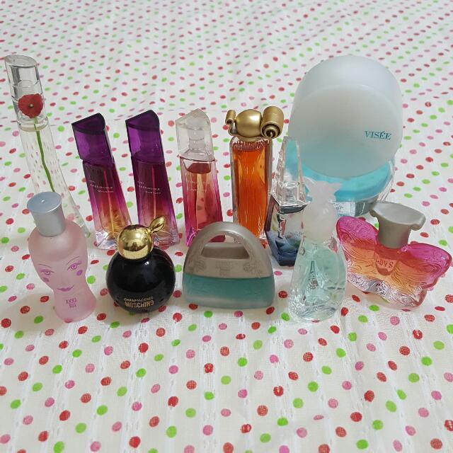 Givenchy&Anna Shi 各式小香水瓶子共12瓶