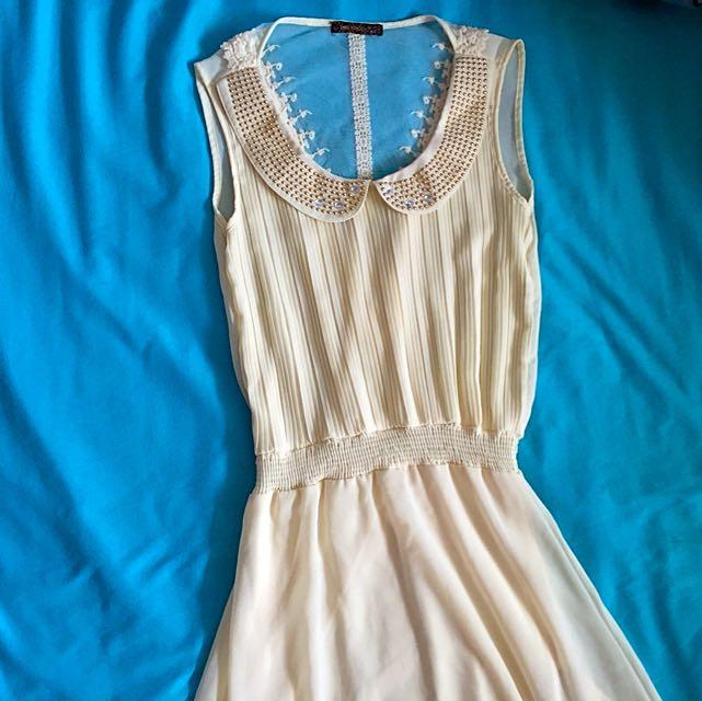 Hi-Lo Sheer Dress