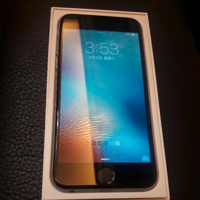保留中  iphone 6 64G 黑 4.7吋