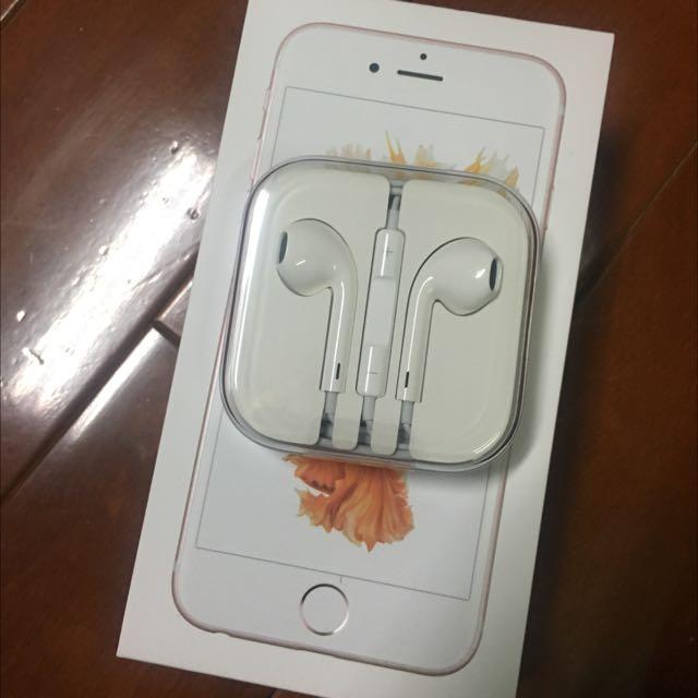 (含運)iPhone 原廠耳機 全新