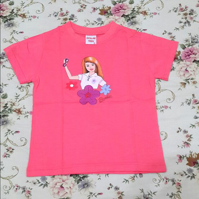 Kaos Anak Barbie Say Hi