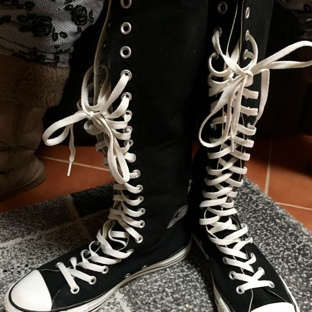 -ON HOLD- Knee High Converses