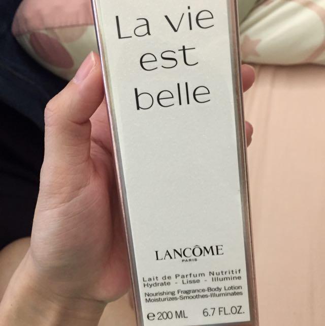 Lancome身體乳