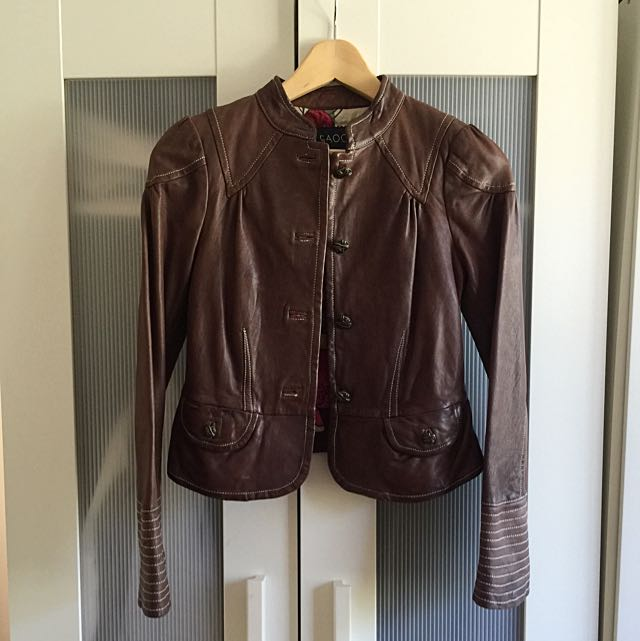 Leather Jacket Real