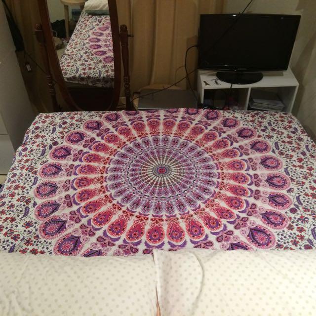 Mandala Double Bedspread