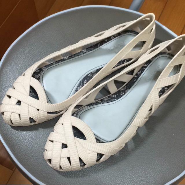 Mellisa 編織風造型香香鞋23.5 Jason wu設計聯名款