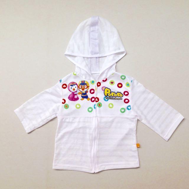 NEW! (LD 32cm) Pororo Official Merchandise Summer Hoodie