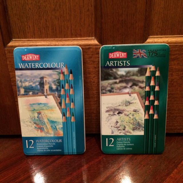 NEW UNOPENED Derwent Watercolour & Artist Pencils