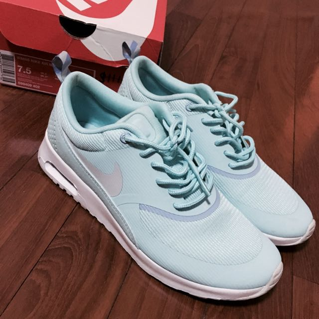 buy online 677cf 4a56c Nike Air Max Thea Tiffany Blue, Women s Fashion on Carousell