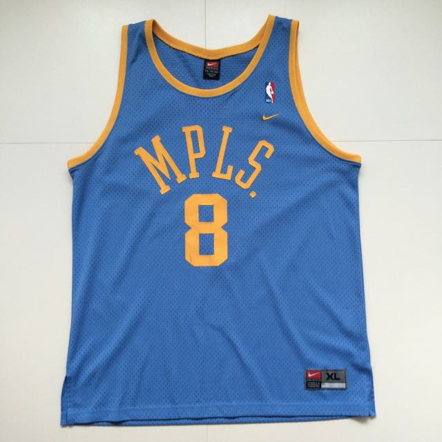 buy popular 85d26 72d59 NIKE authentic Kobe Bryant MPLS Jersey