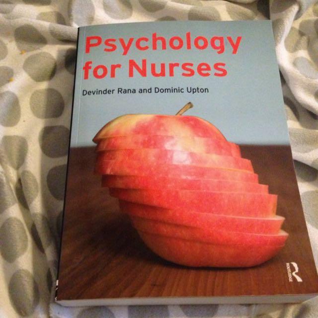 Psychology For Nurses Textbook (2008)