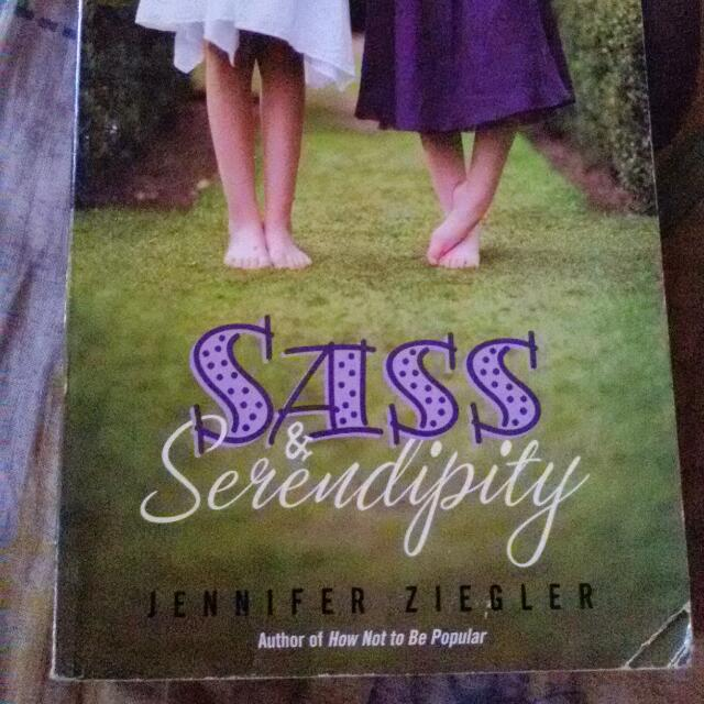 Sass & Serendipity (English Novel)