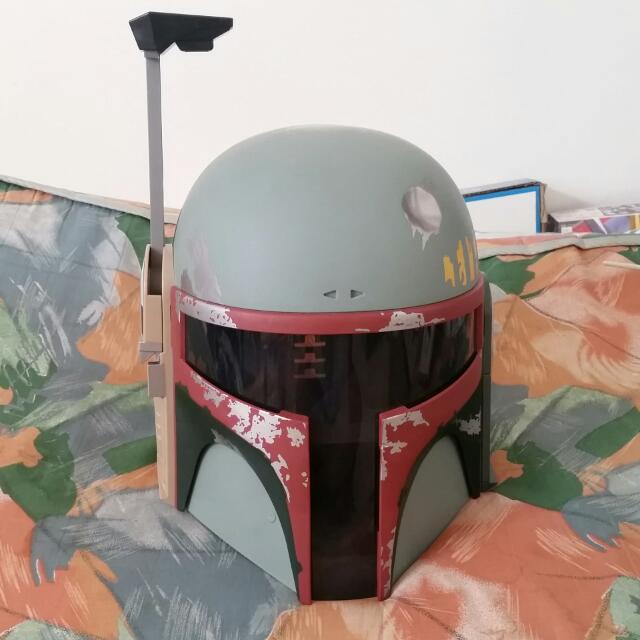 Star Wars Electronic Boba Fett Helmet  -RESERVED-