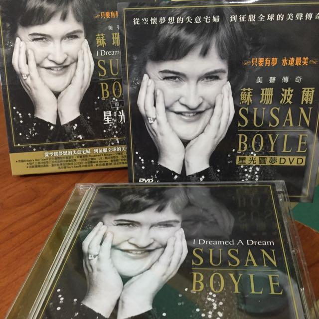 蘇珊大嬸Susan Boyle蘇珊波爾_星光圓夢 I Dreamed A Dream 首張專輯CD+DVD