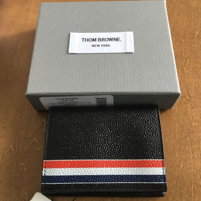 great fit 9daf2 ea1b5 Thom Browne Card Holder