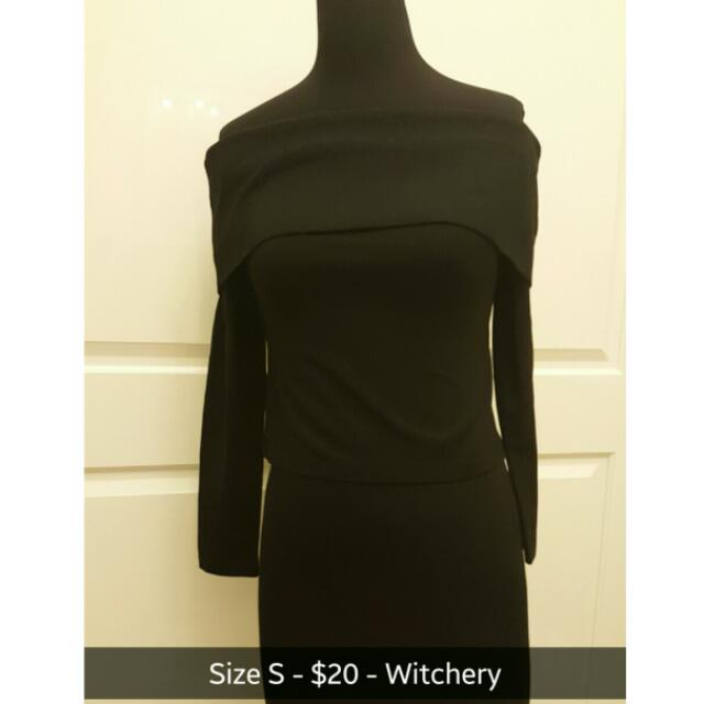 Witchery Off The Shoulder Shirt