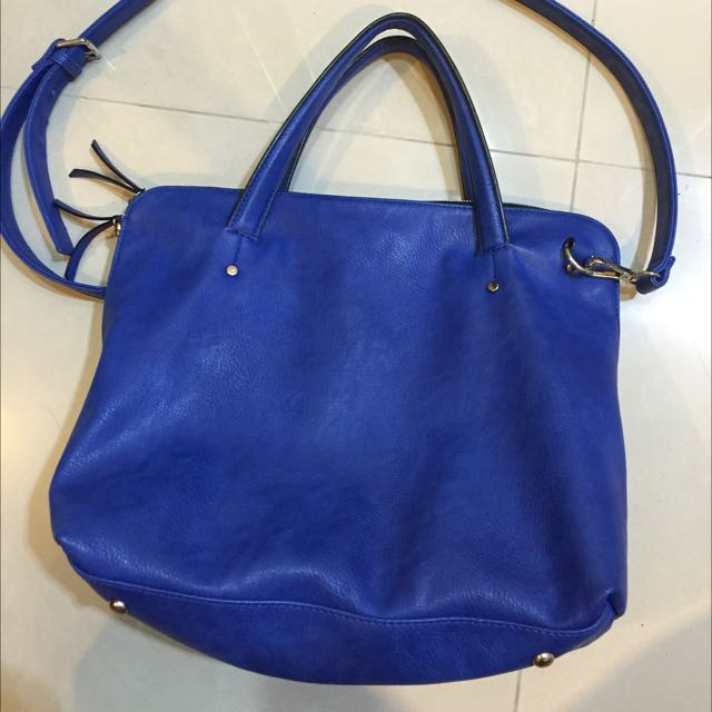 Zara寶藍包包