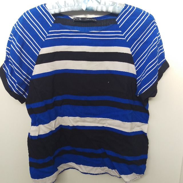 Zara Basic striped top