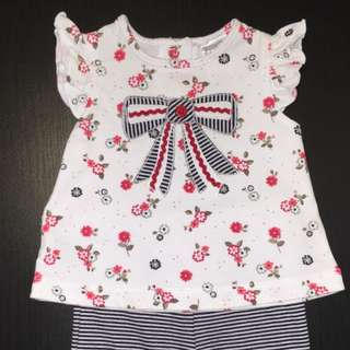 Top And Pants Set Size 0-3 Months