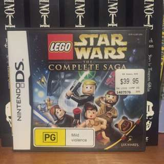 LEGO STARWARS FOR DS