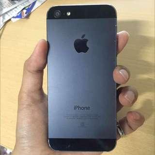 Iphone5 8成新已售出