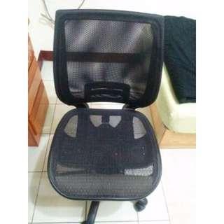 二手 黑色 無扶手 Richome Gagu 超世代全網電腦椅 台灣製免組裝 電腦椅 辦公椅 學生椅