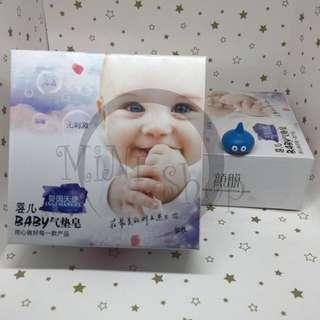 嬰兒皂 氣墊皂 洗臉 卸妝 洗面皂 ❤️