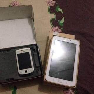 Blackberry Torch 2 + Samsung Tab 3v