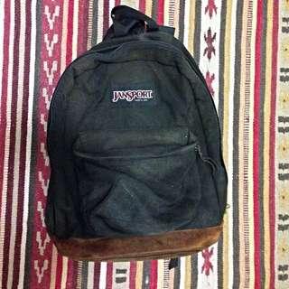 Jansport 黑色背包 美國製 古著