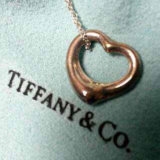 Tiffany And Co Heart Necklace/Pendant
