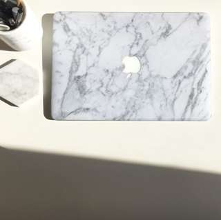 Anti-scratch Marble MacBook Sticker