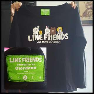 Baju LINE by.giordano Limited Edition