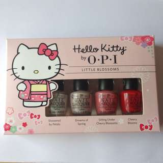 OPI Hello Kitty - Little Blossoms