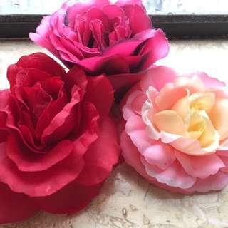 Hair Accessories (rose and Peony)