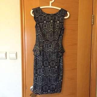 Super Slim Body Con Dress From London