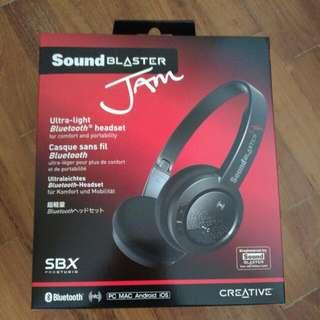 Sound Blaster Jam Bluetooth Headphone