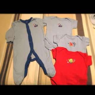 Onsies And New Vests