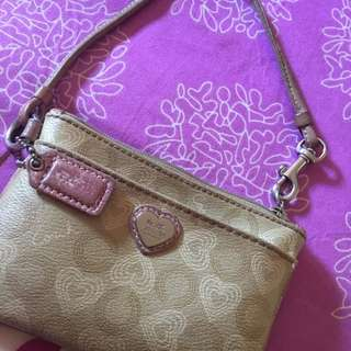 <Moving Out> Authentic Coach Wristlet