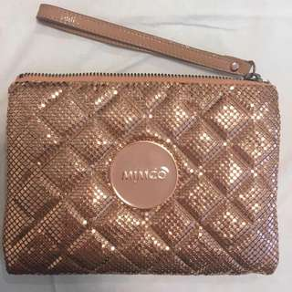 ROSE GOLD MIMCO POUCH