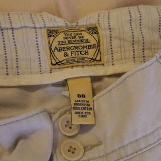 Abercrombie And Fitch A& F AF石洗色靴型jeans