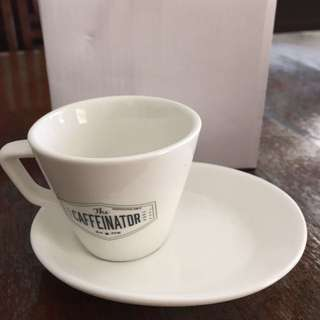 BNIB Espresso Set: Cup With Saucer